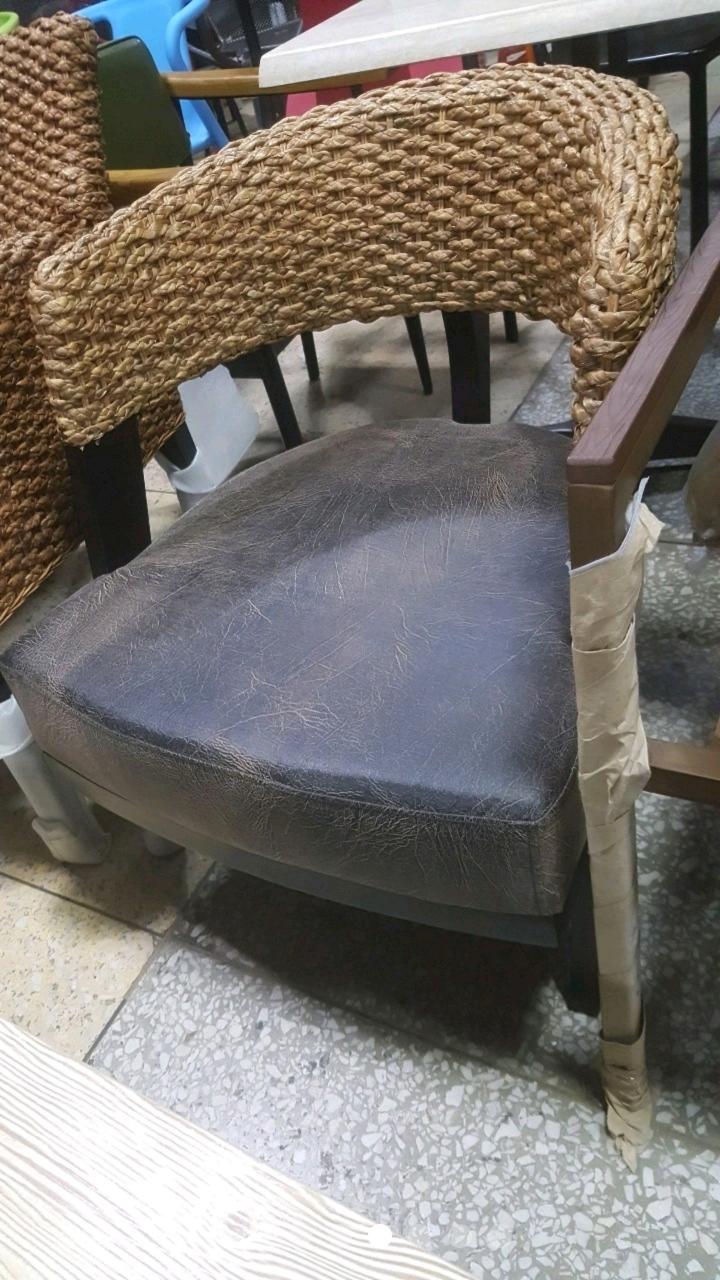 의자 라탄암