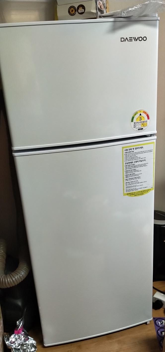 원룸형 자취용 냉장고 대우 146L 냉장고 팔아요