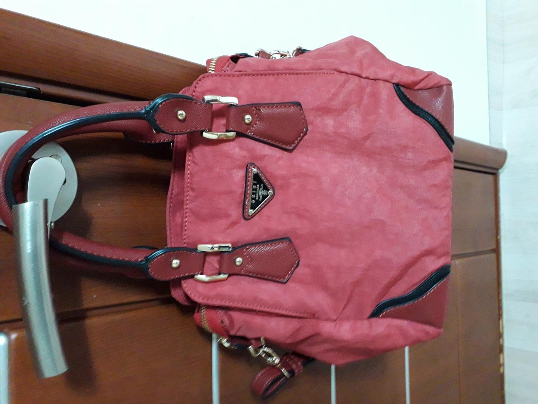 프라다 원단   가방