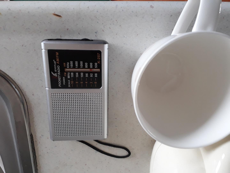 휴대용 라디오 팝니다