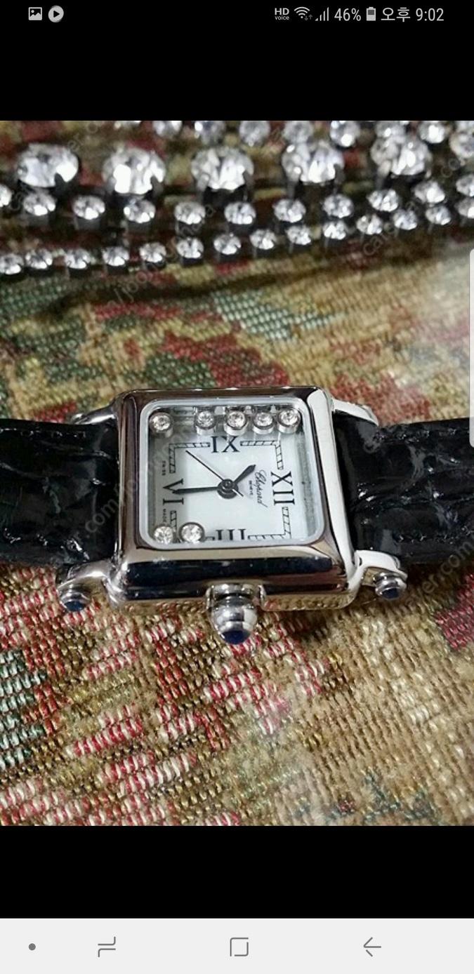 큐빅 찰랑 너무예쁜 무빙다이아 가죽시계 여성시계 다이아시계 명품스타일 럭셔리시계