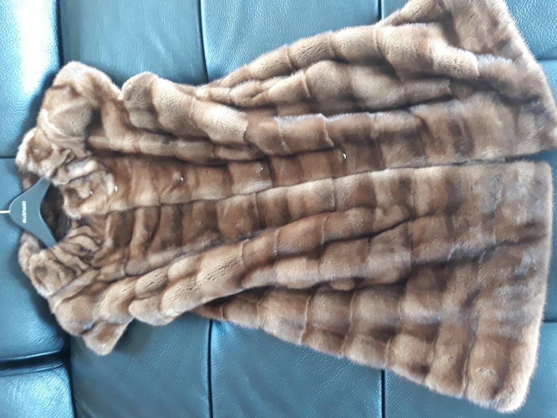 밍크조끼형자켓