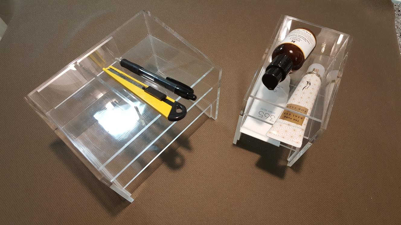 다용도문구정리함소품수납함화장품정리함(세트)