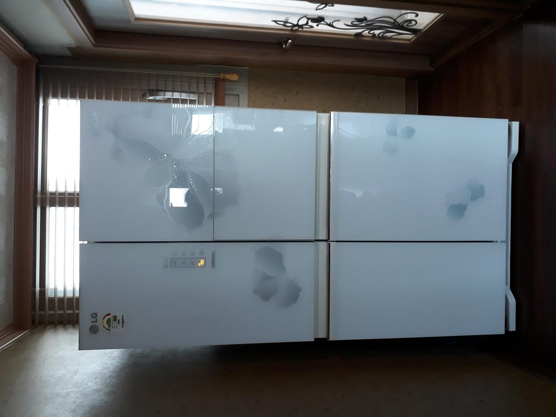 엘지 양문 냉장고