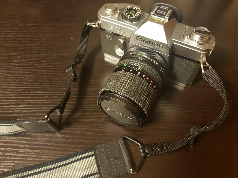 캐논 FTb 필름 카메라