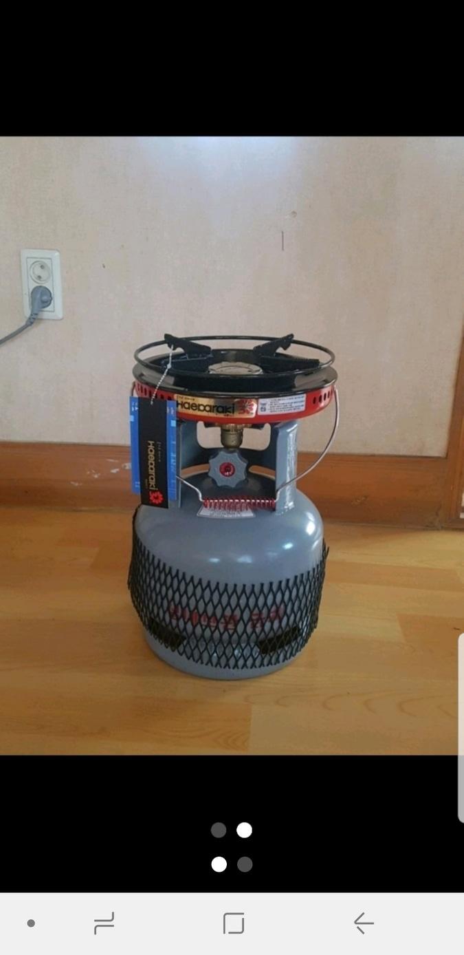(새상품) 캠핑 및 휴대용 가스버너 3kg