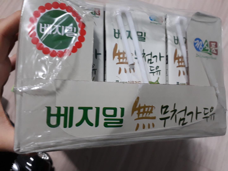 베지밀 무첨가 두유24팩