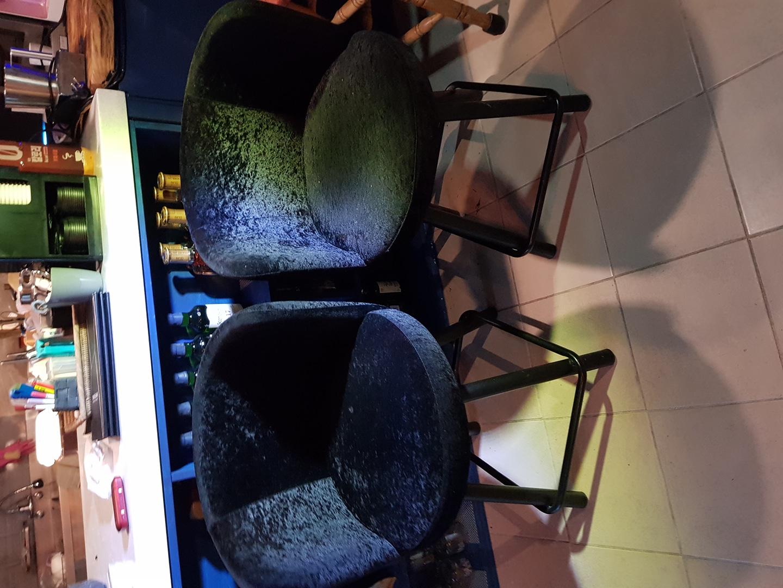 벨로아 의자