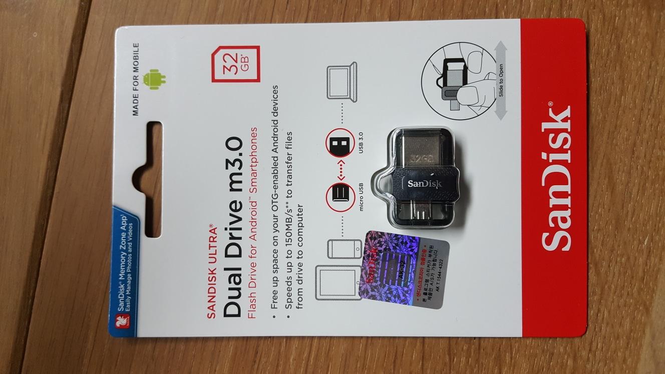 샌디스크 정품 usb 메모리 32GB