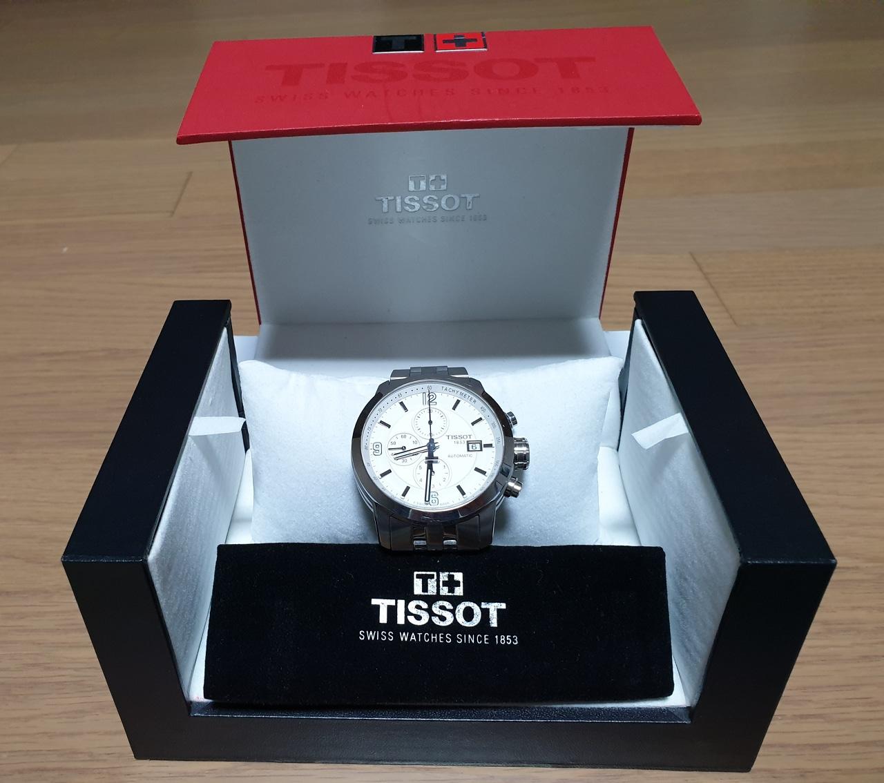 TISSOT(남성 띠쏘 시계)