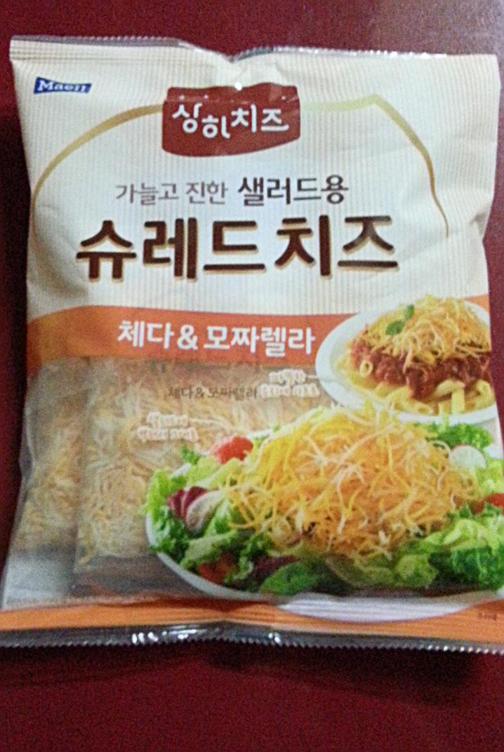 매일 샐러드용 슈레드 치즈