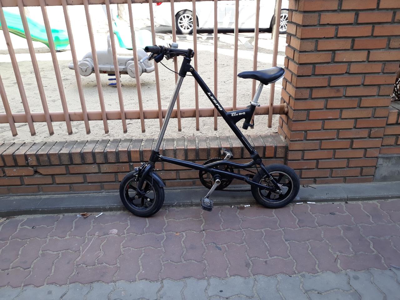 573번. 뉴 이지 바이크 자전거. 하자있어요