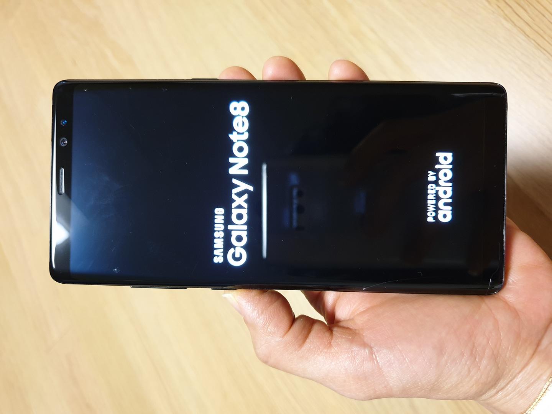 갤럭시노트8 64기가 미드나잇블랙 중고폰
