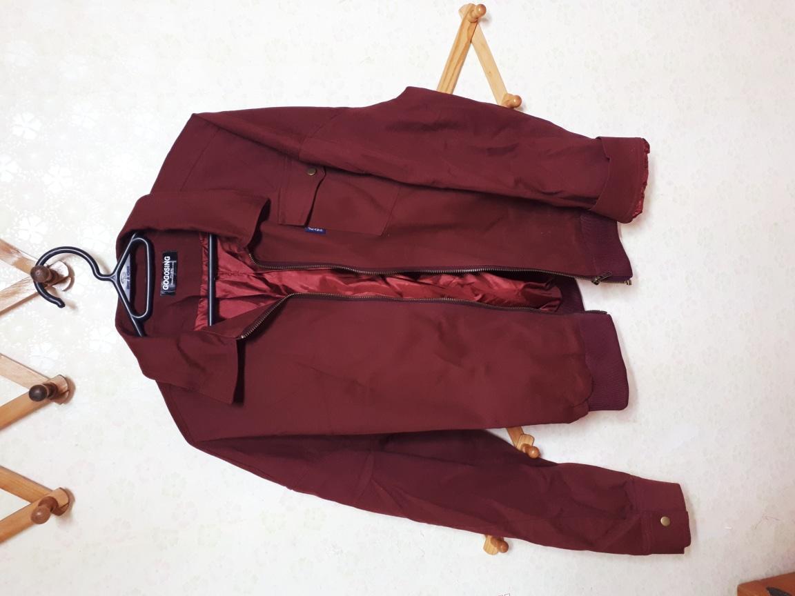 가격내림)걸크러쉬 대박인 와인색 자켓!♡