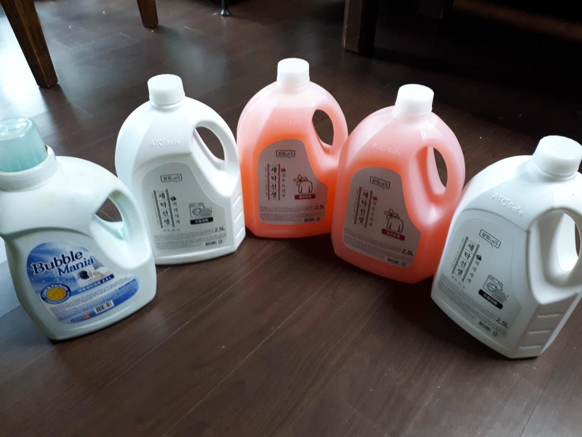 섬유유연제/액체세제