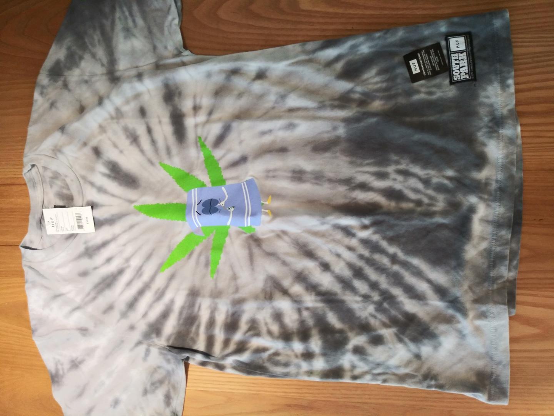 HUF 반팔 티셔츠 신상 새 제품