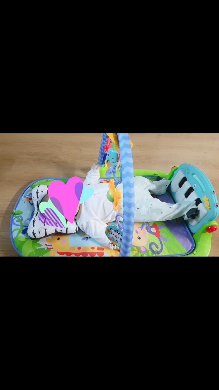 피셔프라이스 피아노 아기 체육관