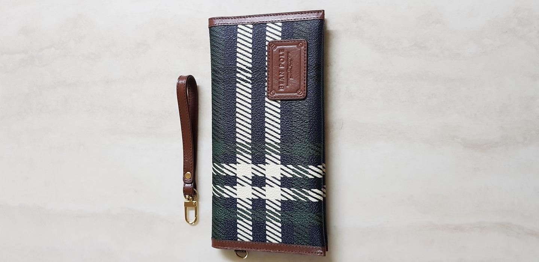 빈폴 통장지갑