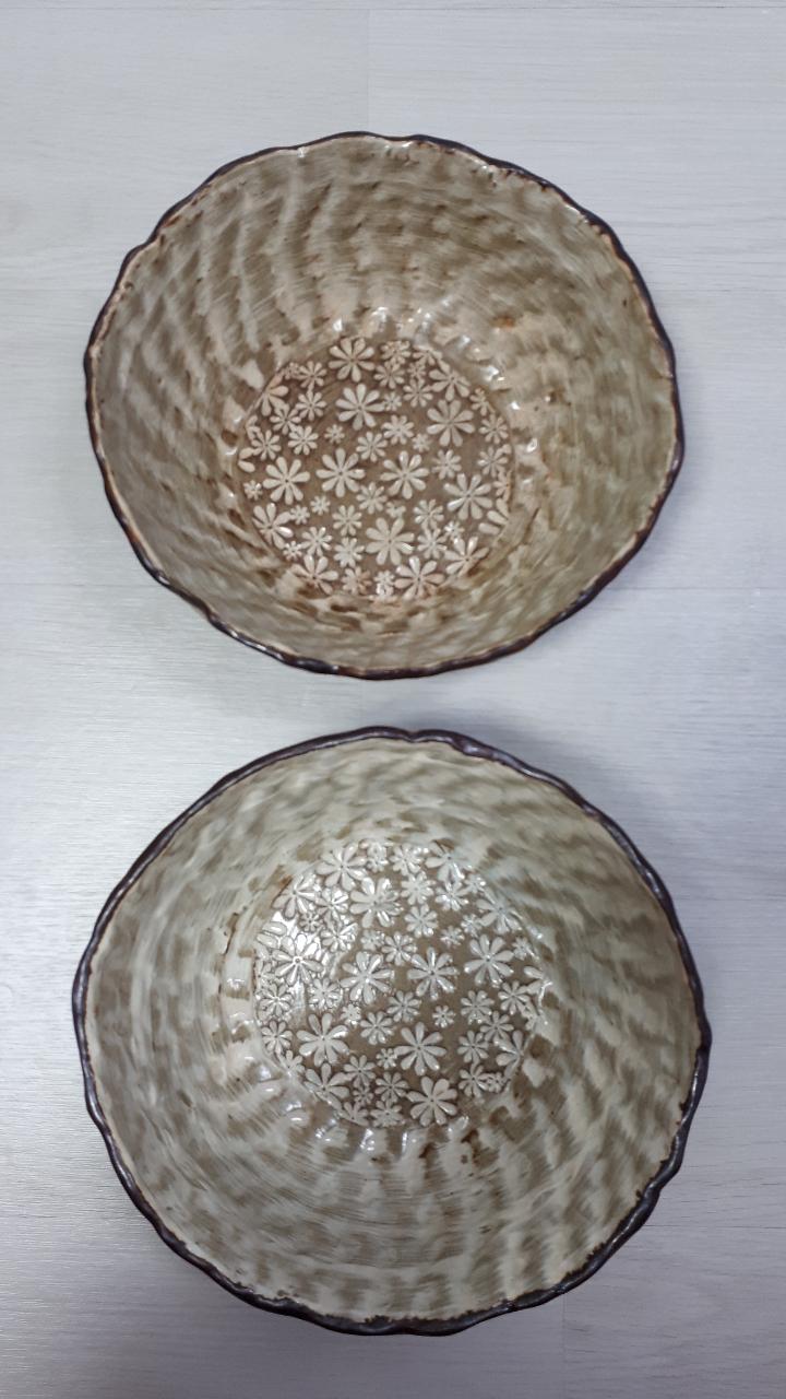 도자기 그릇2개