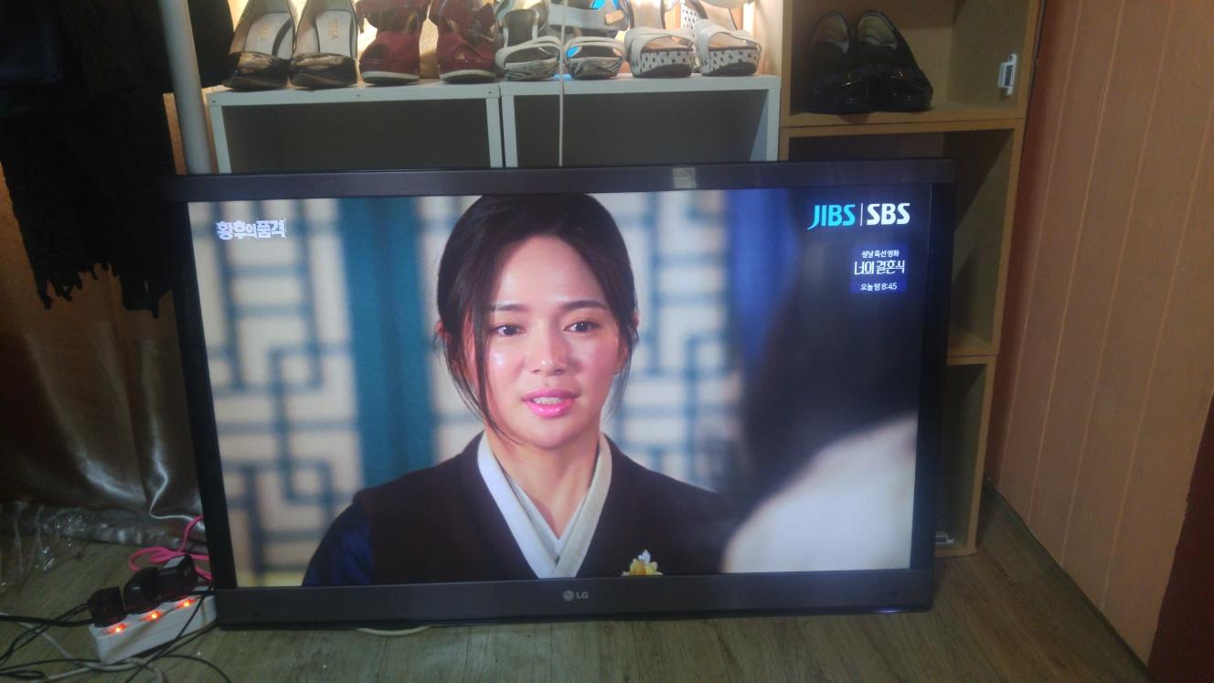 .LG 42인치 LED TV 티비 모니터 벽걸이.