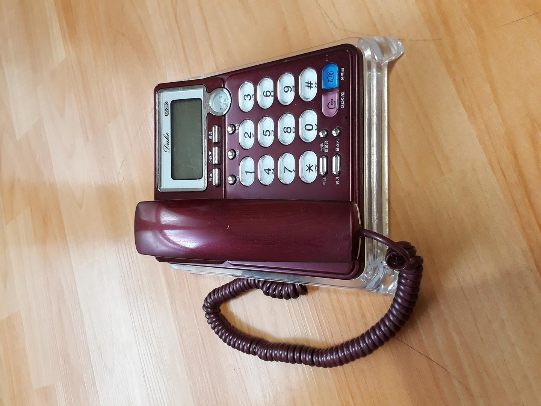 전화기 (받침대 포함)