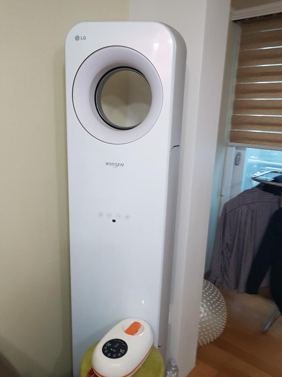 LG 휘센 트윈에어콘(스탠드+벽걸이+실외기+엥글포함)