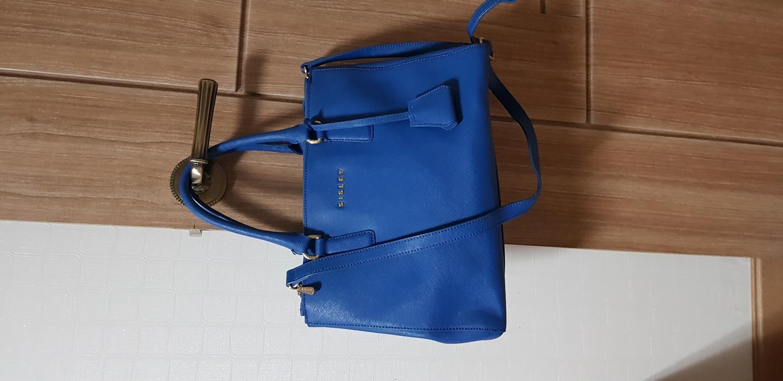 시슬리 가방 레아백 (블루)