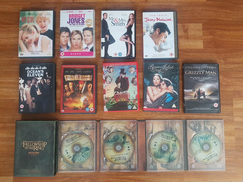 영화 DVD 개당 2000원/한글 안됨