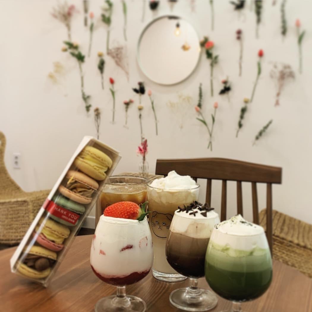 예쁜 마카롱가게, 사진이 잘나오는 카페