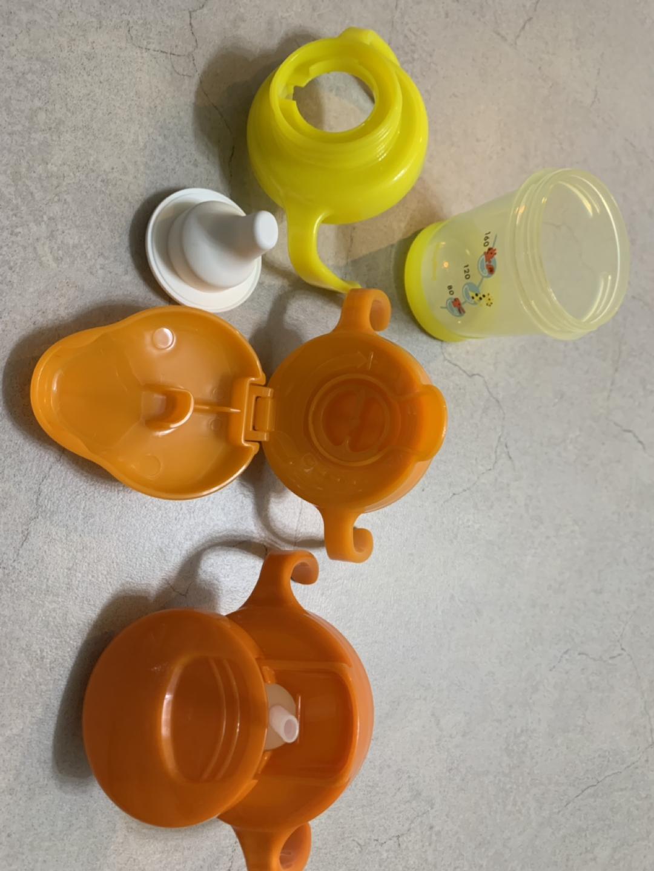 가격내림)더블하트 마그마그 올인원 빨대컵, 과즙망 팝니다(김포 운양동 직거래)