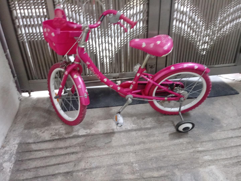 어린이자전거 이쁜자전거입다 5세ㅡ7세 합당함니다
