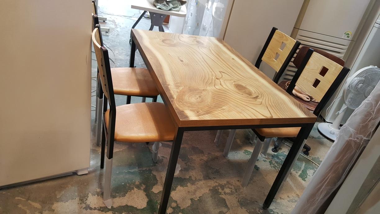 식탁set 4인 ((신상))  테이블 의자  업소용의자  업소용테이블