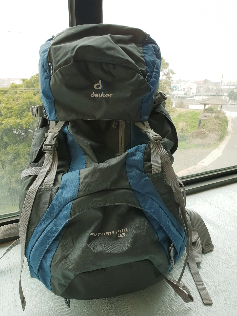 도이터배낭42리터, 등산배낭, 여행배낭