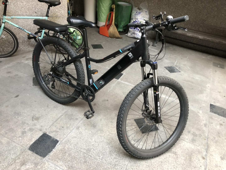 알톤 전기자전거 니모27.5 자전거도로가능 파스