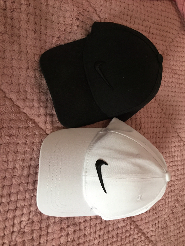 나이키 모자 검검 흰검