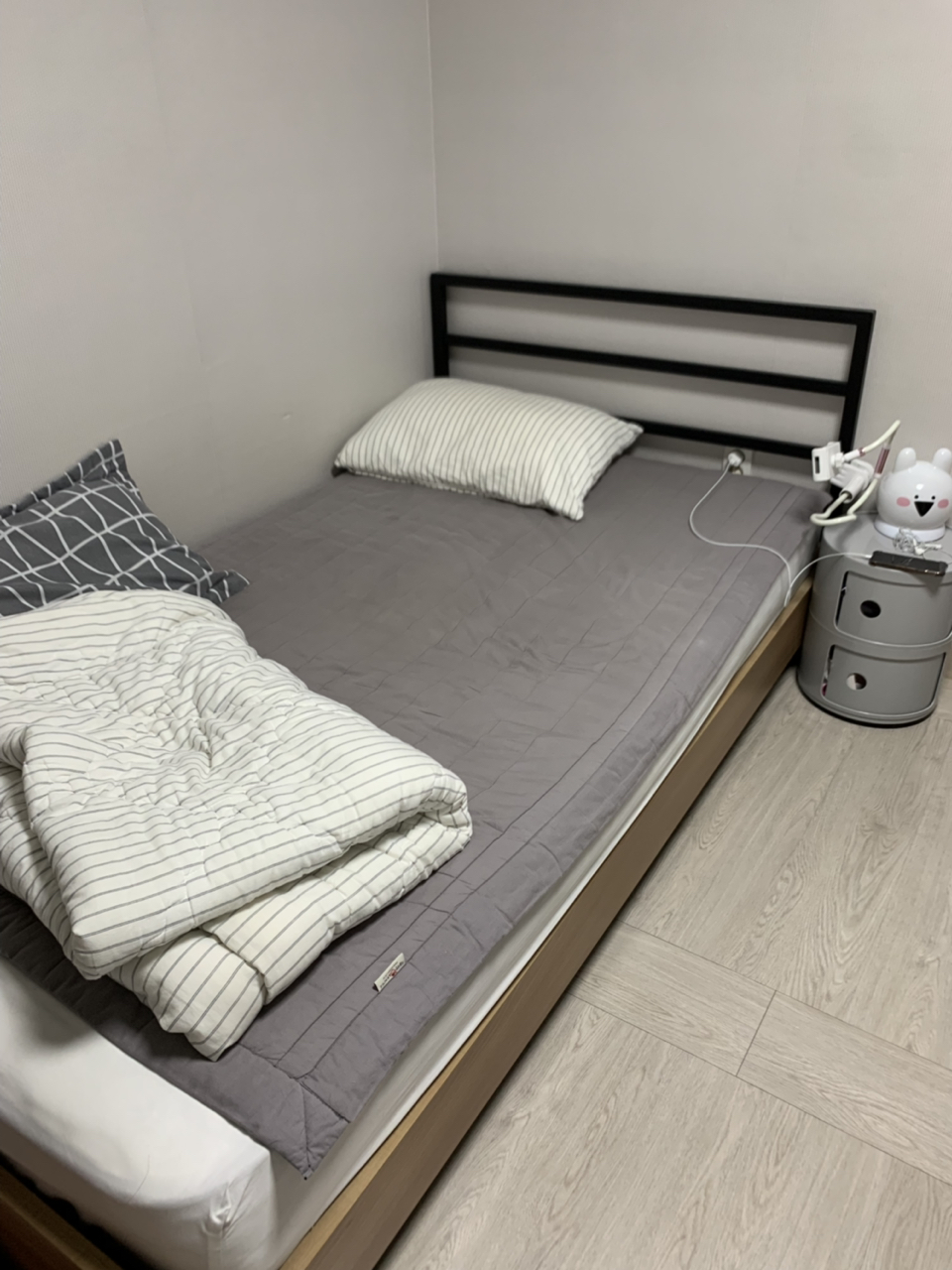 한샘 슈퍼싱글 침대 프레임