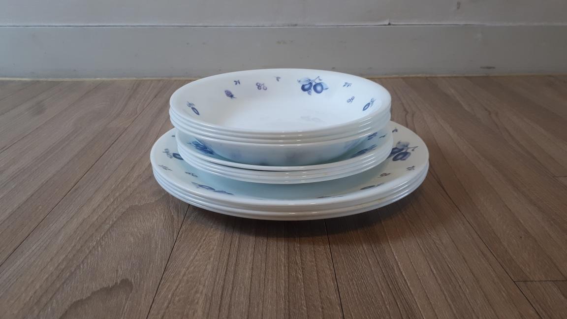 코렐 접시 (12장)