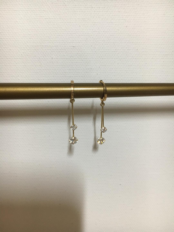 14k gold 귀걸이