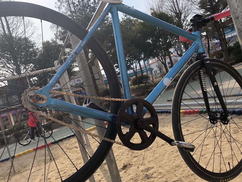 픽시자전거 콘탄 드래그 2015