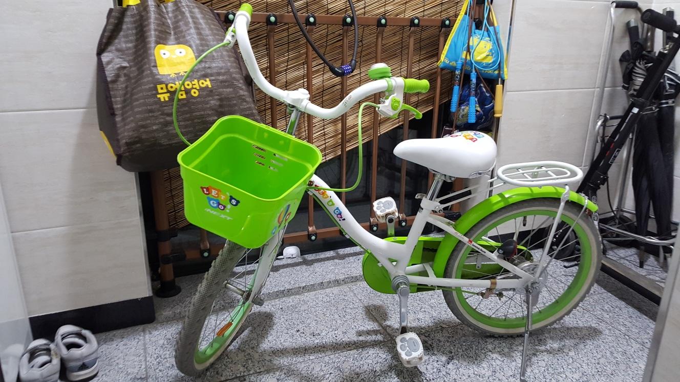 아동 삼천리자전거 18인치바퀴 + 헬멧