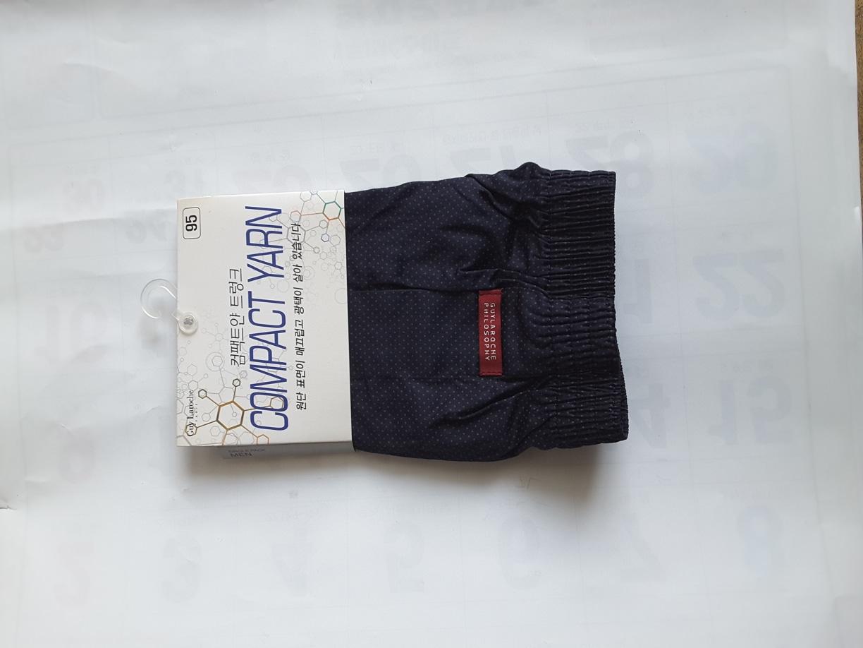 트렁크 팬츠(새상품,   남자 , 95,  100호) ㅡ 6장