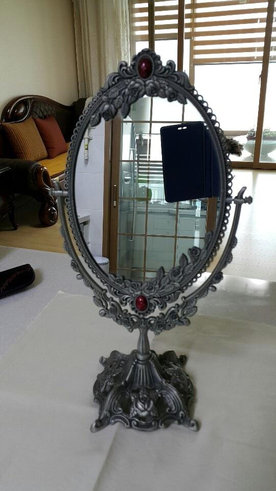엔틱 탁상거울