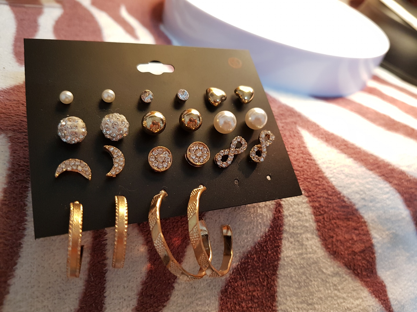 8.금장) 귀걸이