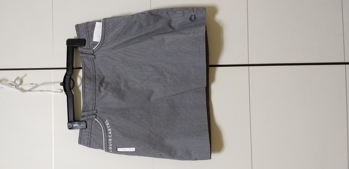 66루이스카스텔/여성골프스커트/골프옷/블랙줄무늬