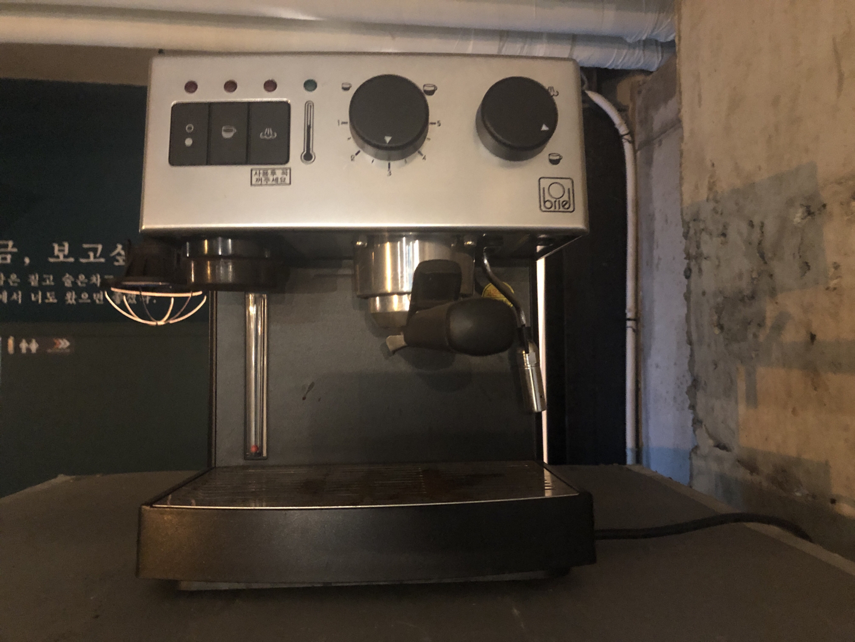 브리엘 반자동 커피머신