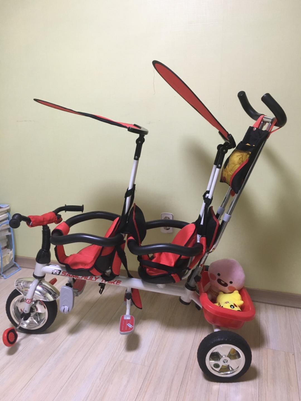 2인용 유아 자전거