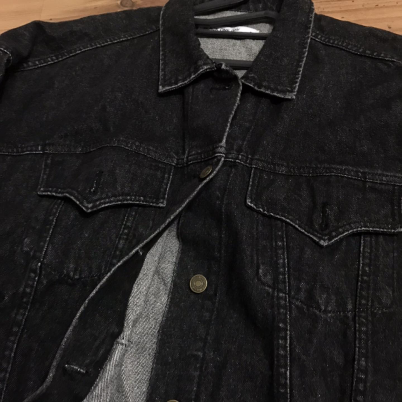 남녀공용 흑청 자켓 봄 자켓