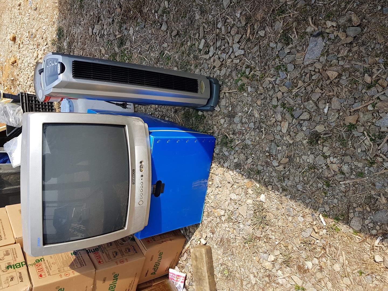 전기히터, TV