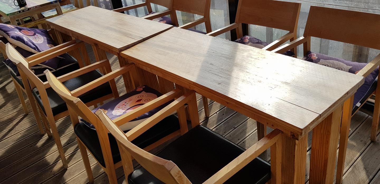 테이블 정리합니다.