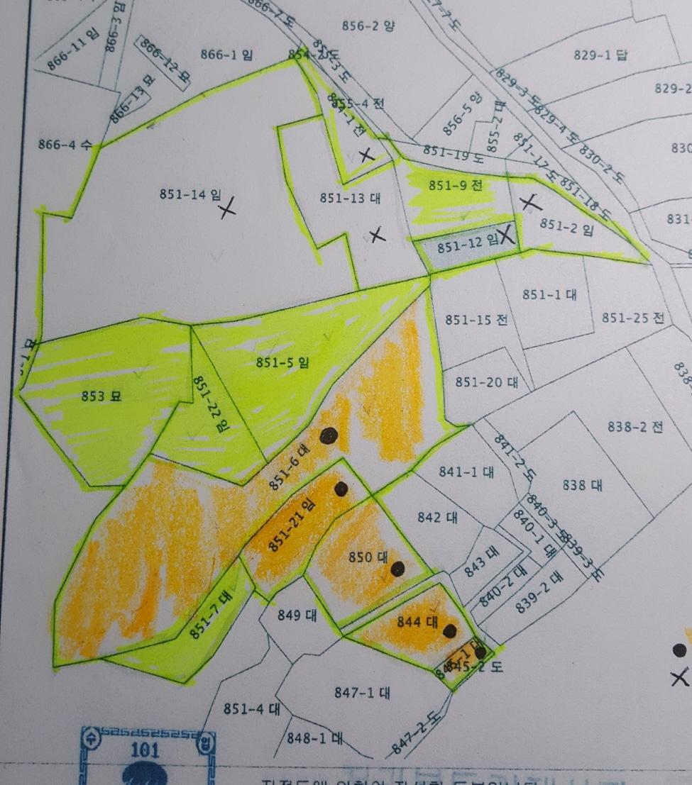 땅과 집을 판매 합니다. 지역은 김제시 죽산면 명량리 입니다. 노랑색으로 표시한 부분입니다.